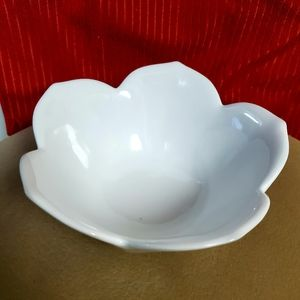 Pier 1 Flower Shaped Ceramic Bowl